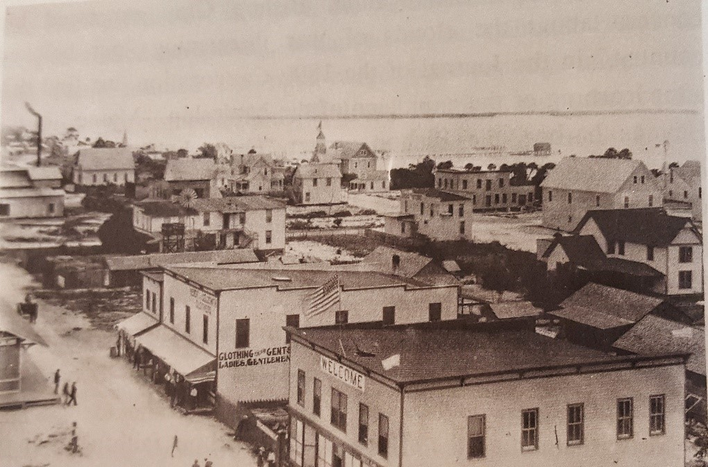 early photo of downtown Fort Pierce